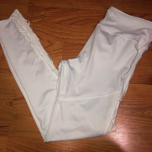 Pants - White work out tights